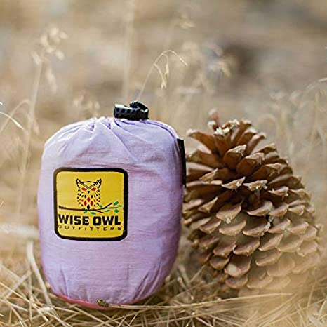 3 Colors! Portable Parachute Nylon Wise Owl Outfitters Kids Hammock for Camping The Owlet Kid Child Toddler or Gear Sling Hammocks Perfect Small Size for Indoor Outdoor or Backyard