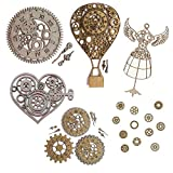 Steampunk Scrapbook Embellishments Collection #1-29