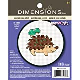 Dimensions Crafts Kids Learn a Craft Counted Cross Stitch, Hedgehog