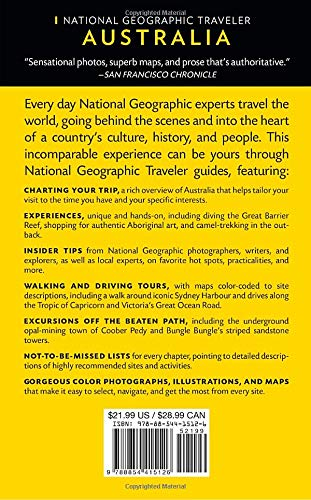 51ppryD1coL - National Geographic Traveler: Australia, 6th Edition