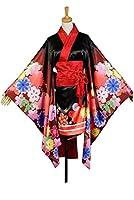 UU-Style Girl Uniform Dress Cosplay Super Sonico Kimono Costume