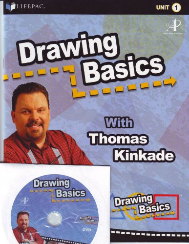 Drawing Basics with Thomas Kinkade LIFEPAC 1 - Book and DVD