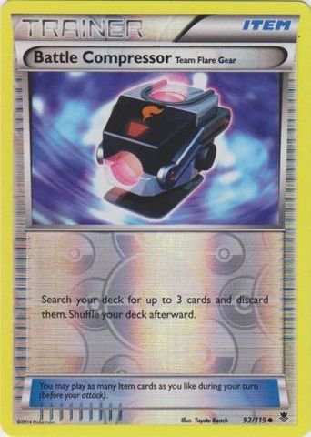 Pokemon - Battle Compressor  - XY Phantom Forces - Reverse H