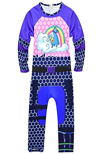 Kids Girls Game Cosplay Costume Bodysuit Halloween Party Zentai Cosplay Costume -