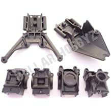 Traxxas Stampede 4x4 VXL SKID PLATES & DIFFERENTIAL CASES (gear box bulks (6708)