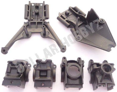 VXL SKID PLATES & DIFFERENTIAL CASES (gear box bulks (6708) ()