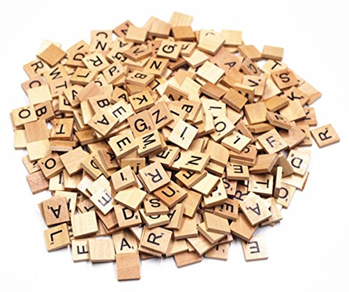 M-Aimee 600 SCRABBLE TILES - NEW Scrabble Letters - Pendants Crafts Spelling -