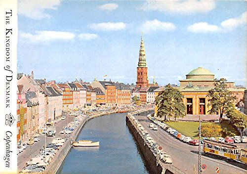 Old Strand Denmark, Danmark Postcard