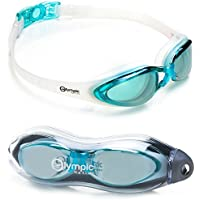 Olympic Nation Crystal Clear Comfortable Swimming Goggles...