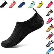 Amazon #DealOfTheDay: VIFUUR Water Sports Shoes Barefoot Quick-Dry Aqua Yoga Socks Slip-On For Men Women Kids