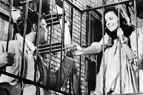 Richard Small Wood (West Side Story Natalie Wood Richard Beymer 11x17 Mini Poster)