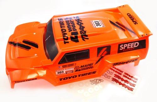 Traxxas 1/10 Slash 2WD Robby Gordon * DAKAR EDITION ORANGE BODY * 4x4 Hummer (Traxxas Hummer Body compare prices)