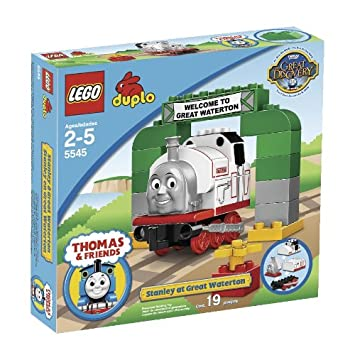 Amazon.com: LEGO Duplo Stanley at Great Waterton (5545): Toys & Games