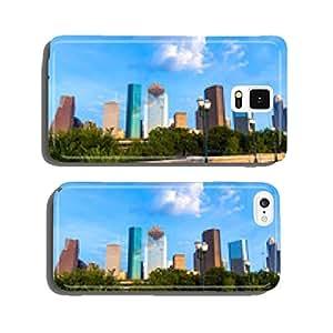 Houston skyline from Sabine St bridge Texas US cell phone cover case Samsung S5