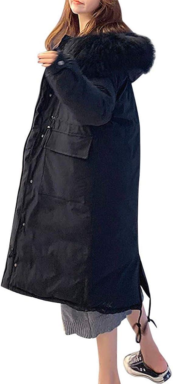Amazon.com: Abrigo de invierno para mujer, abrigo largo con ...