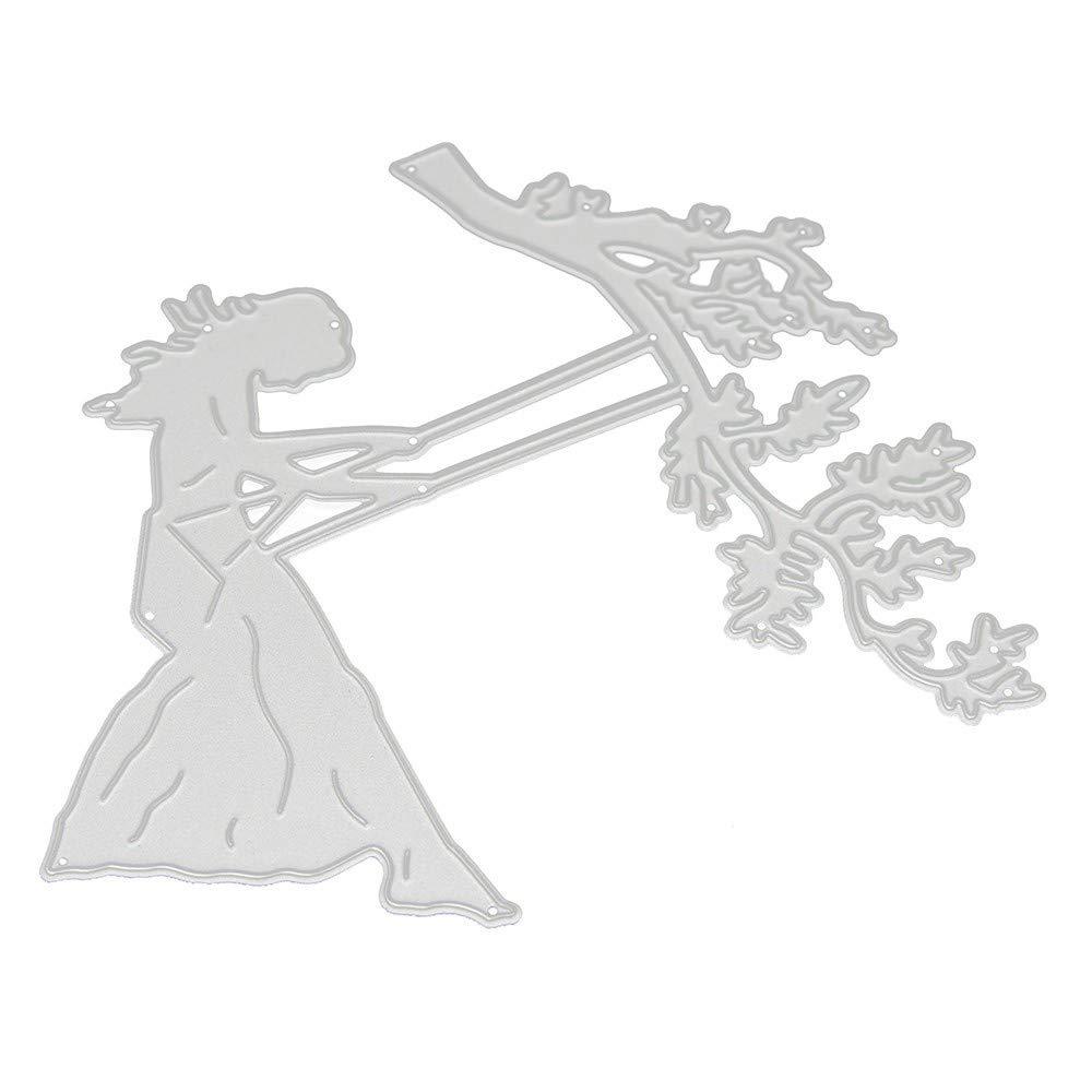 D/ía de la Madre D/ía del Padre D/ía del Trabajo Verano Primavera Oto/ño Invierno Descuentos Troquel de Metal con Hilo de Coser Tarjeta de Papel de Troqueles UJUNAOR Troqueles de Corte