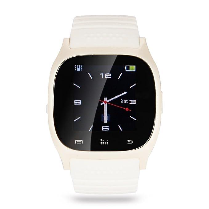 Amazon.com: soyan Nueva M26 Bluetooth Smart muñeca reloj ...