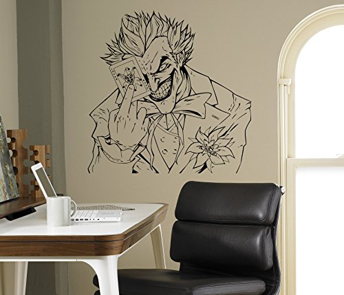 Joker Comics Wall Vinyl Decal Batman Sticker Superhero