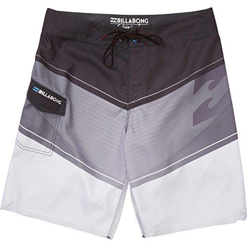 Billabong Men's Slice Supreme Suede Boardshort with Cargo Pocket, Black, 32 - Flap Pocket Boardshorts