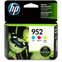 HP N9K27AN#140  952 Cyan, Magenta & Yellow Original Ink...