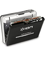 "ION Tape Express Plus Cassette Player and Tape-to-Digital Converter with USB & 1/8"" Out"