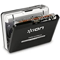 """ION Tape Express Plus   Cassette Player and Tape-to-Digital Converter with USB & 1/8"""" Out"""