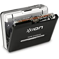 ION Tape Express Plus | Cassette Player and Tape-to-Digital Converter with USB & 1/8 Out