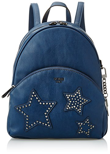 Guess H Hwbn6689320 W Bag L Women's 12x27 cm Top Blu Handle 5x21 x wwPr4dq
