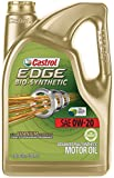 edge 0w - Castrol 03585 EDGE Bio-Synthetic 0W-20 Advanced Full Synthetic Motor Oil, 5 quart, 1 Pack