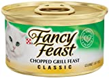 fancy feast cat food grilled - Purina Fancy Feast Classic Chopped Grill Feast Cat Food - (24) 3 oz. Pull-top Can