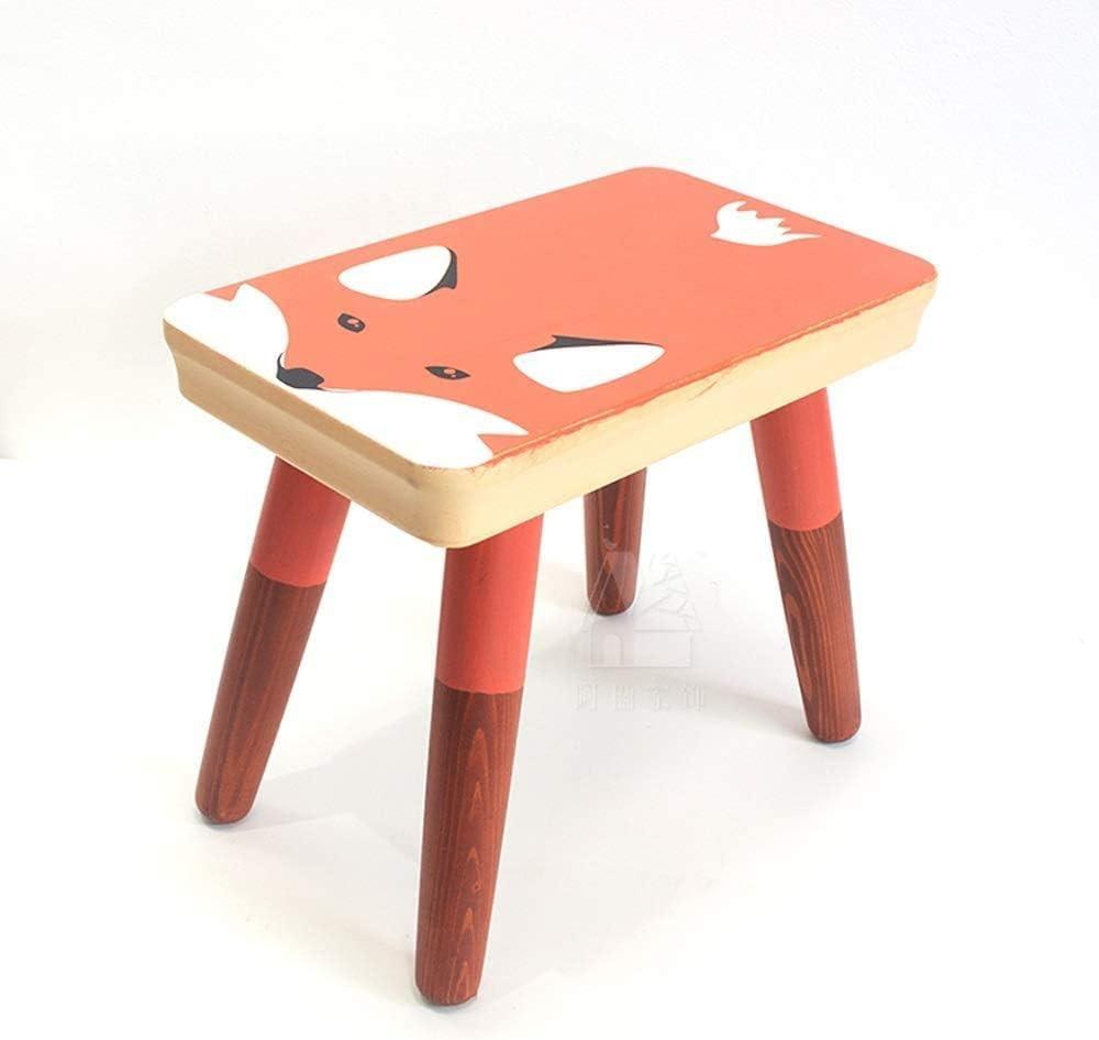 ガードレール Creative bar Stool Modern Home Decor Nursery Decor Children's Birthday Gift Animal Stool Kids Room Furniture Wooden Stools bar Chair (Color : A-3)