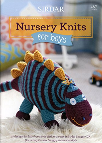 Sirdar Book 487 Nursery Knits for Little Boys