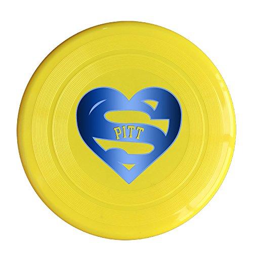 (AOLM Heart PITT Outdoor Game Frisbee Ultra Star Yellow)