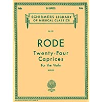 24 Caprices: Schirmer Library of Classics Volume 231