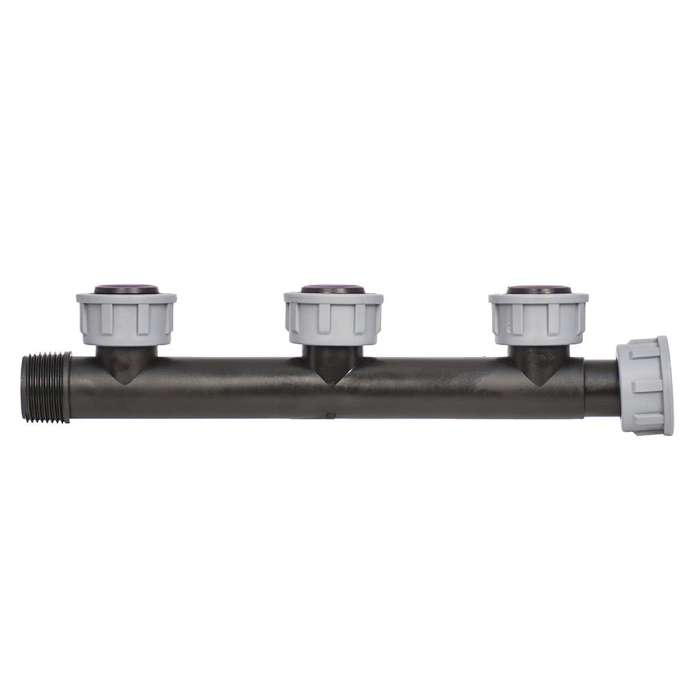 HydroSure Swivel Manifold with 3 Female Outlets - 1'' BSP