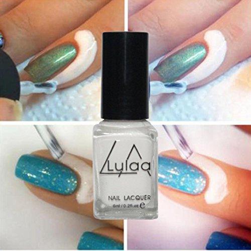 Price comparison product image Leewa 6ML Lulaa Peel Off Liquid Tape Latex Nail Art (White)