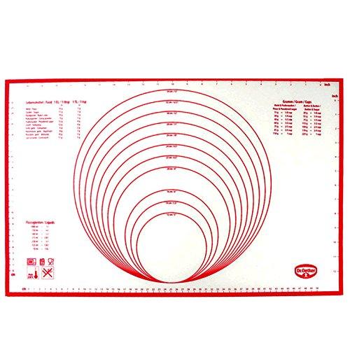Dr. Oetker 1258 Backmatte, 60 x 40 cm, Silikon