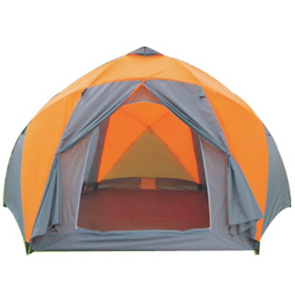 Campingzelt,8  10-personen-zelt Outdoor Mit Großen Öffnungen Campingausrüstung Double-layer Folding Outdoor Zelten Kuppelzelte
