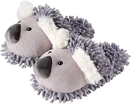 29a44cc6b95 Aroma Home Fuzzy Koala Slippers  Amazon.co.uk  Kitchen   Home
