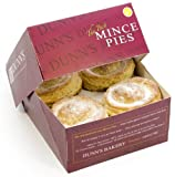 Dunn's Traditional Puff Pastry Mince Pies (Box of 8)