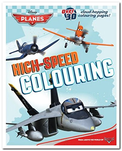 Disney Planes High Speed Colouring