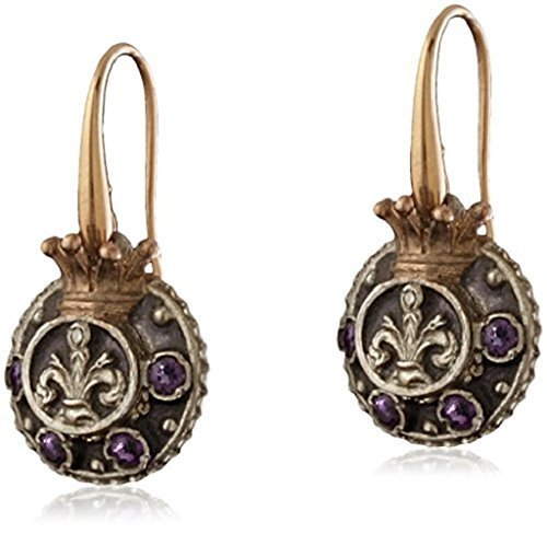 alessandro-dari-gioielli-de-medici-18-ct-gold-and-silver-earrings-with-zircons-and-enamel