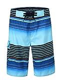 Nonwe Men's Summer Cargo Swim Trunk Board Shorts Swim Surf Trunks 1613120-34