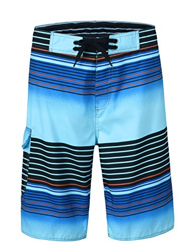 Nonwe Men's Board Shorts Summer Sea Vacation Swim Trunks Beach Water Suit Pants 1613120-32