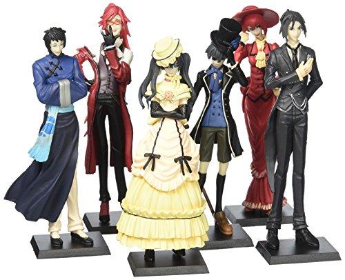 6 Figurine Set - Anime Kuroshitsuji Black Butler Character 6 Piece Figure Set