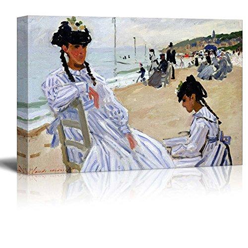 Paris Marmottan Strand Trouville by Claude Monet Impressionist Art