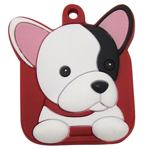 FouFou Dog Key Cover, French (Bulldogs Umbrella)