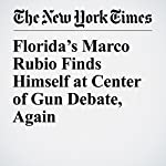 Florida's Marco Rubio Finds Himself at Center of Gun Debate, Again | Alexander Burns,Patricia Mazzei