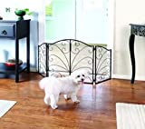Pet Gate – Metal Dog Gate for Stairs & Doorways – Retractable Dog Gates –Dog Gate Indoor – Gate for Dogs and Cats – Dog Gates for Doorways