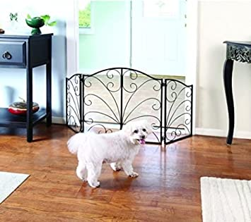 Beau Pet Gate U2013 Metal Dog Gate For Stairs U0026 Doorways U2013 Retractable Dog Gates U2013Dog